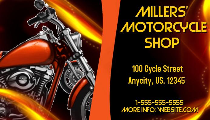 Custom motorcycle shop business plan