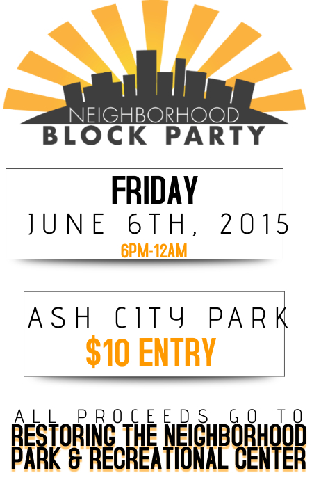Neighborhood block party flyer poster template postermywall for Block party template flyers free