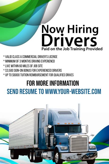 hiring flyer template