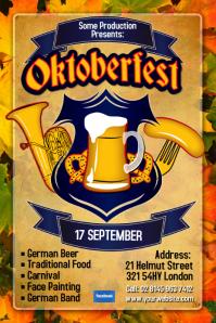 Oktoberfest Party Flyers! | Design Studio