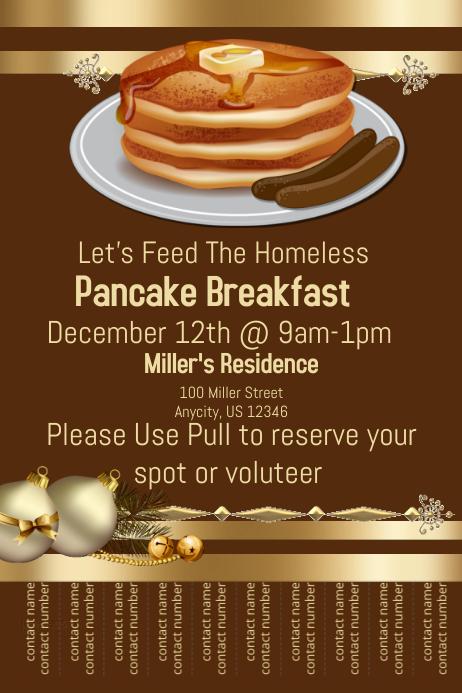 pancake breakfast template