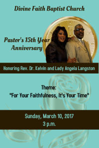 Customizable Design Templates For Anniversary Postermywall