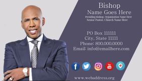 Pastor\'s Business Card
