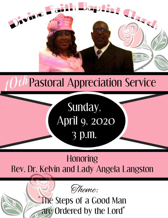 Pastor Appreciation Invitation Free | just b.CAUSE
