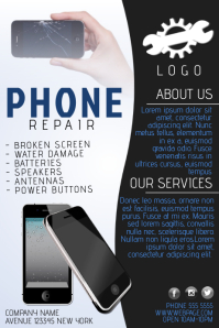 Computer Repair Flyer Templates Postermywall