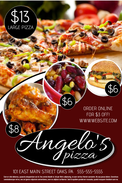 pizza sale flyer template - pizza template postermywall