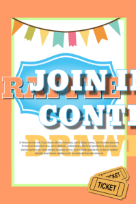 Customizable Design Templates For Raffle Postermywall