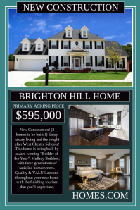 real estate flyer templates  postermywall real estate poster template real estate poster template real estate