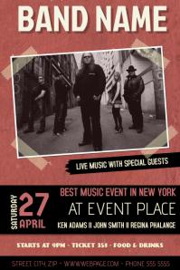 Concert/Band Flyers idea