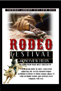 Customizable Design Templates For Rodeo Flyer Postermywall