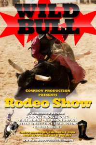 Rodeo Poster Templates Postermywall