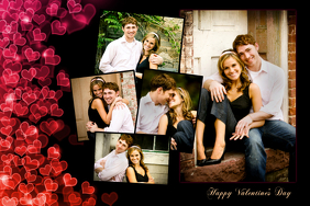 Romantic Collage Template