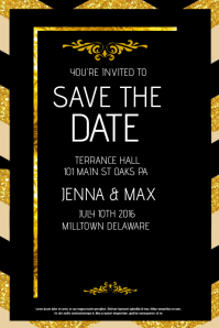 customizable design templates for save the date postermywall. Black Bedroom Furniture Sets. Home Design Ideas
