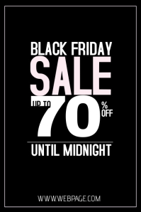 customizable design templates for black friday postermywall. Black Bedroom Furniture Sets. Home Design Ideas
