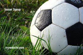 Soccer Signup Flyer