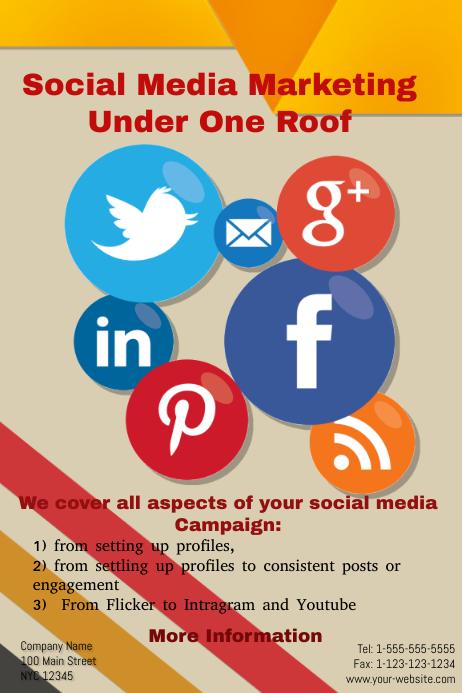 Social Media Marketing | PosterMyWall