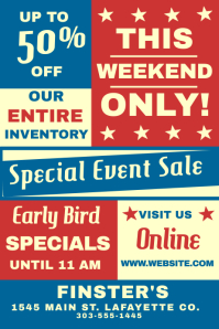 Special Event Sale
