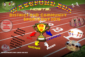 Pics for sports day posters design for Sports day poster template