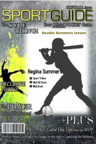 Sports Guide Softball Magazine Cover