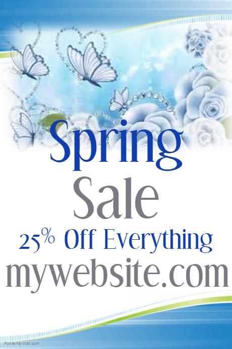business Springtime Flyer