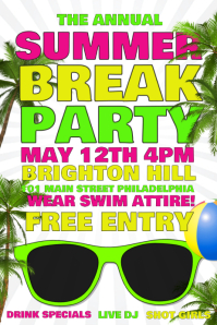 Summer Break Party