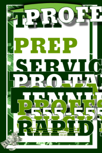 tax flyer templates free