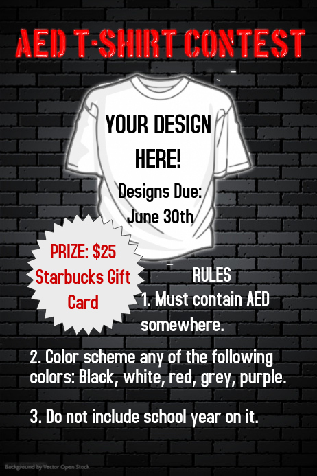 t shirt contest poster template postermywall. Black Bedroom Furniture Sets. Home Design Ideas