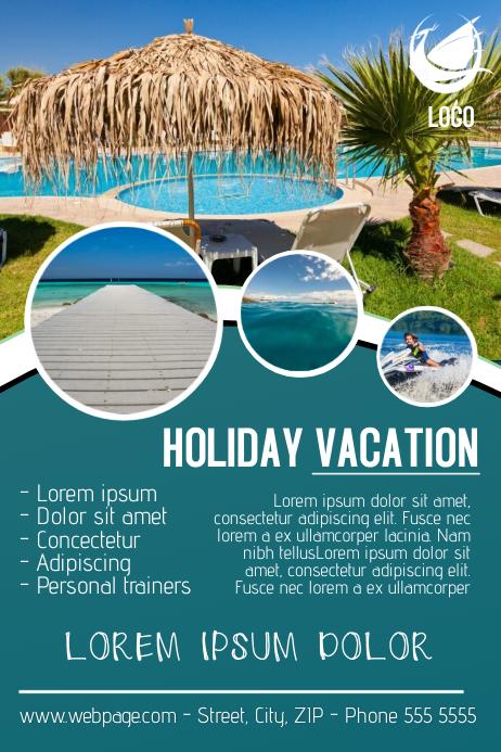 free travel flyer templates