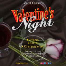 Valentines Night Poster