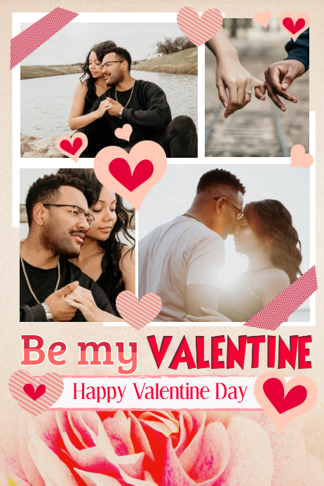 Valentine's Collage Templates | PosterMyWall