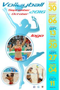 vollyball-flyer-template-5ac95aef67c347e2575dad7e618e0c88 Volleyball Letter Templates on softball template, racing template, button template,