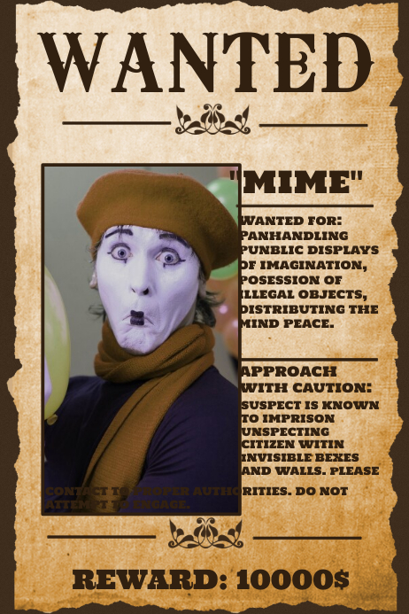 Wanted poster templates postermywall for Wanted pirate poster template