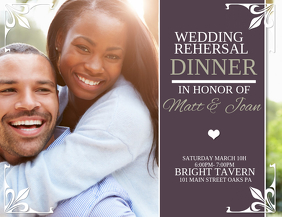 Wedding Rehersal Dinner
