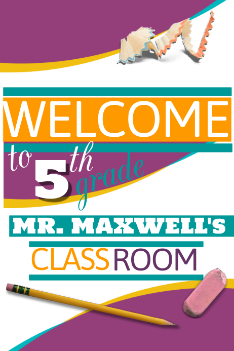 Welcome Flyer template : PosterMyWall