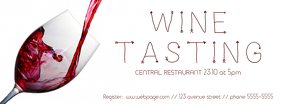 Wine Tasting Event Facebook Cover