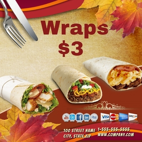 Wraps Template