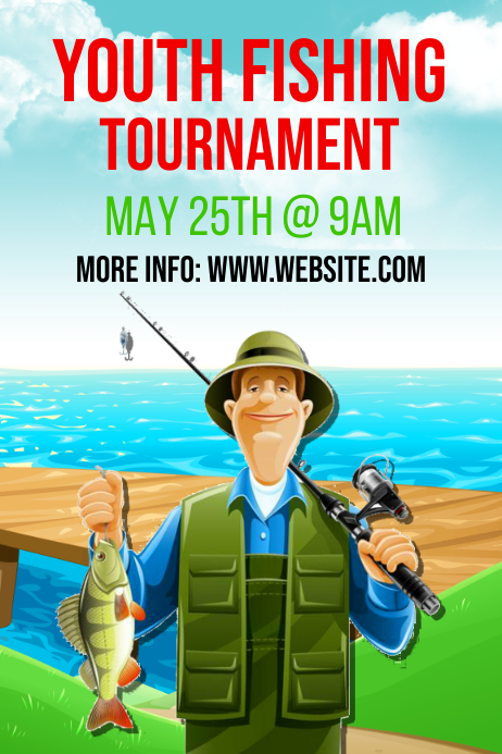 Fishing tournament flyer template free dzeo fishing tournament flyer template free saigontimesfo