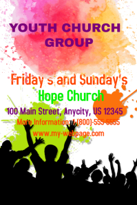 Customizable Design Templates For Youth Group Postermywall