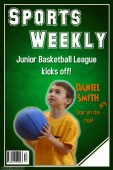custom basketball sports team poster idea