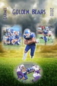 custom poster for football team