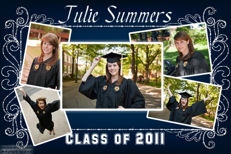 graduation collage poster idea