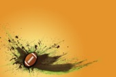 football poster background