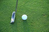 golf putter flyer background