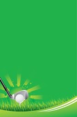 golf sports poster background