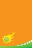 tennis sports poster background